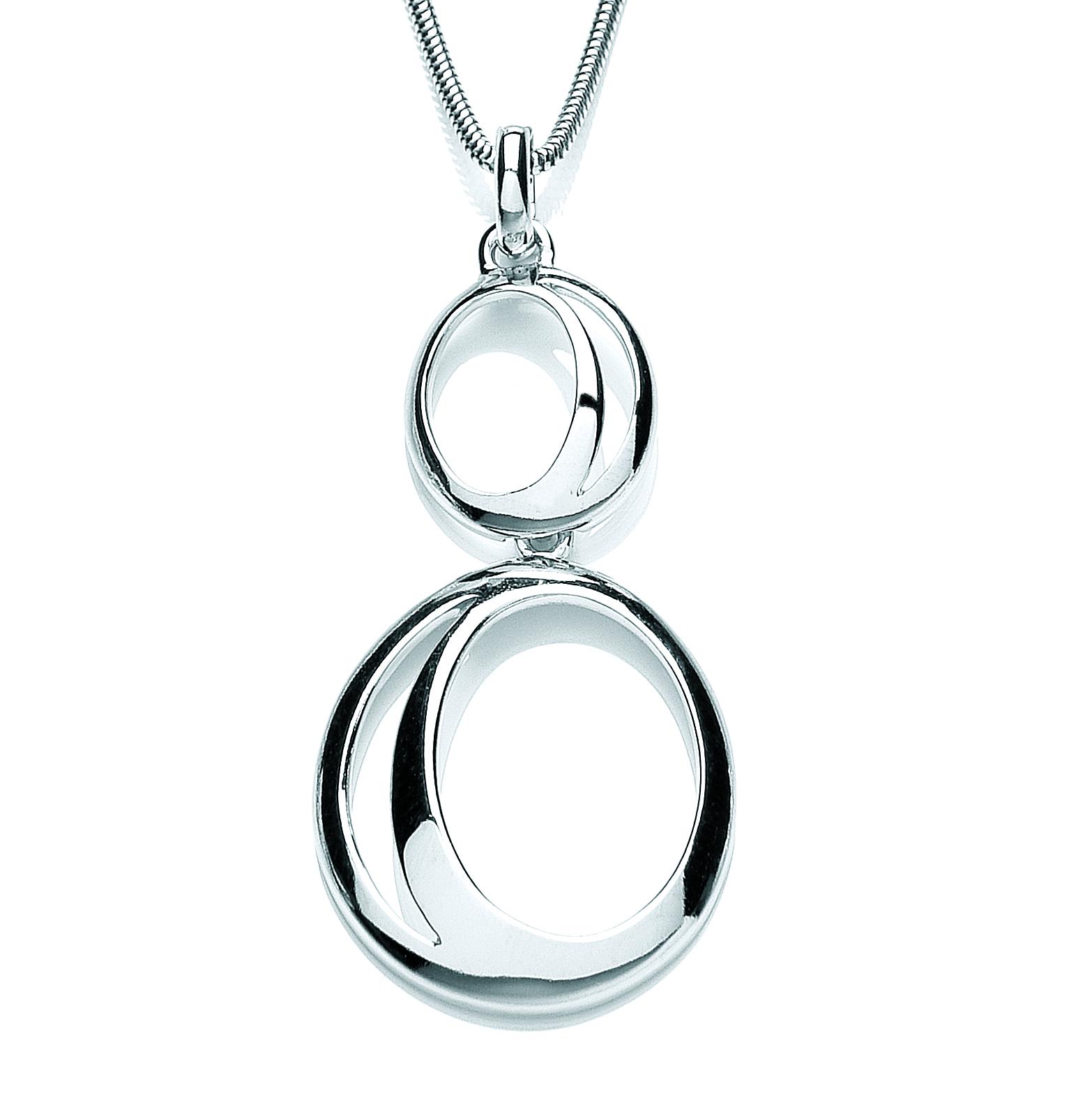 Silver purity pendant