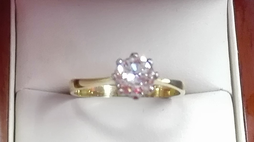 Pre Owned Secondhand Diamond Solitaire Ring 1 Carat Weight